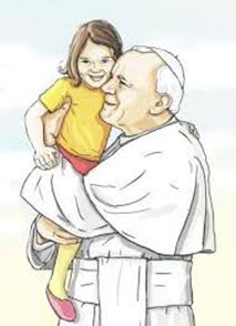 """Konkurs ,,Święty Jan Paweł II- przyjaciel dzieci i młodzieży"""""""