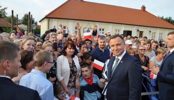 Spotkanie z Prezydentem Andrzejem Dudą