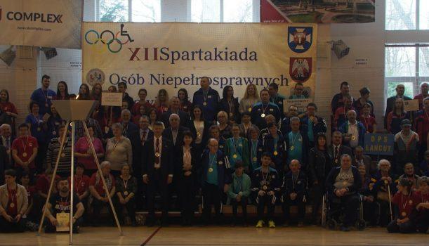 XII Spartakiada Osób NiepełnosprawnychPowiatu Łańcuckiego –Łańcut 2019