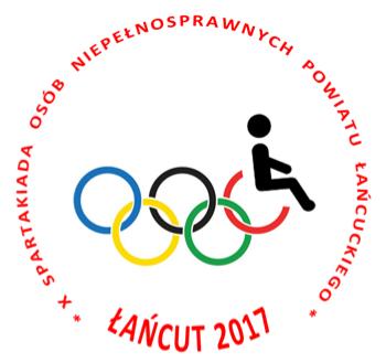 Zaproszenie na X Spartakiadę Osób Niepełnosprawnych Powiatu Łańcuckiego – Łańcut 2017