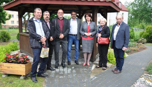 Wizyta węgierskiejdelegacji z partnerskiej gminy Ököritófülpös