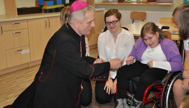 Wizyta wyjątkowego Gościa – Księdza Biskupa Stanisława Jamrozka