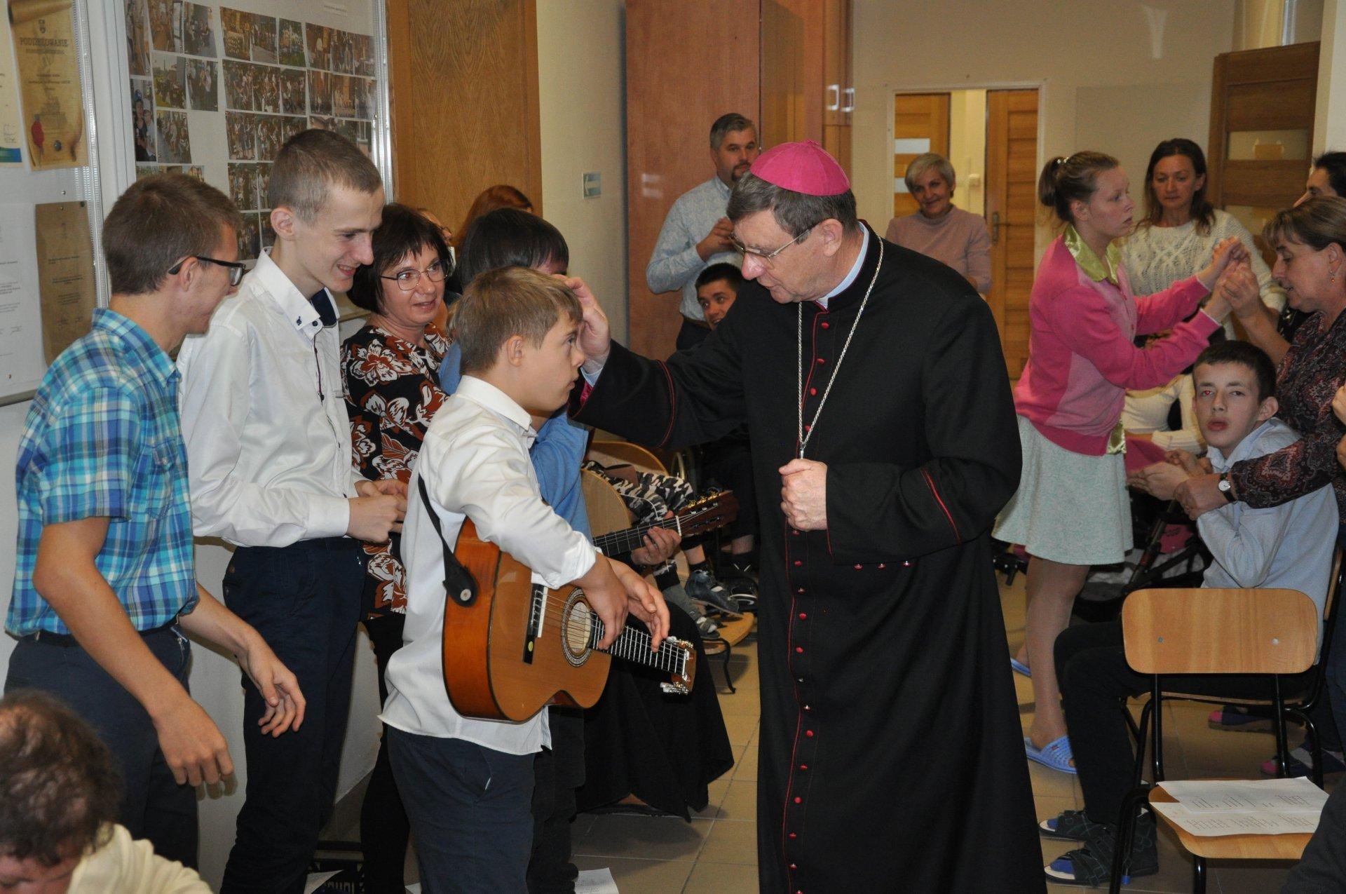 Wizyta duszpasterska Księdza Biskupa Krzysztofa Chudzio